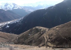 Footage of Alolar village of Kalbajar