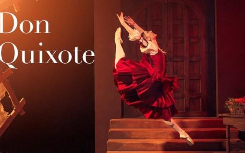 Belaruslu balet ustaları Bakıda Don Kixot baletinin tamaşasında oynayacaqlar