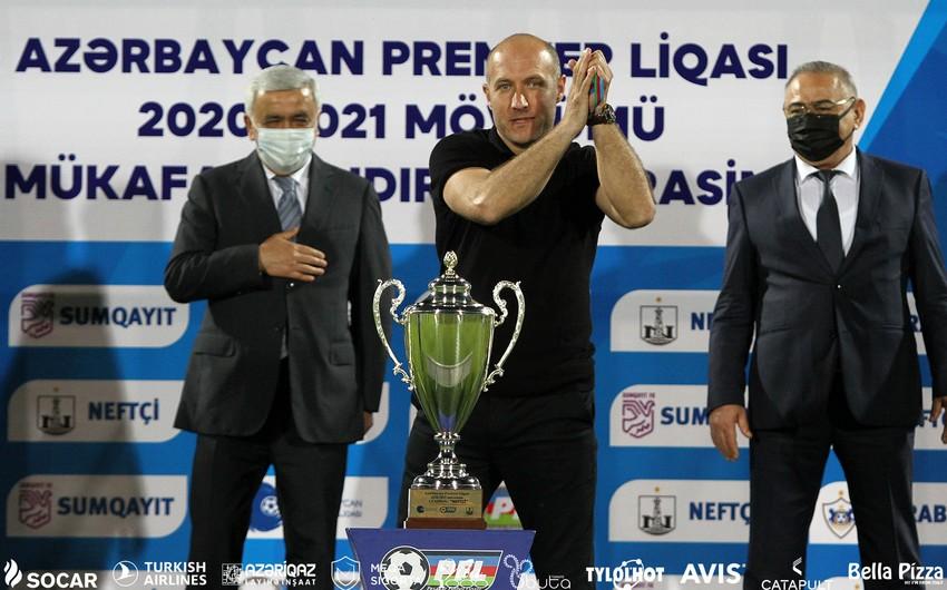 Samir Abasov Azərbaycan çempionatının tarixinə düşdü