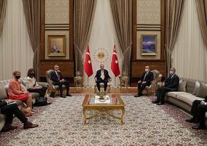 Erdoğan discusses Nagorno-Karabakh with NATO chief
