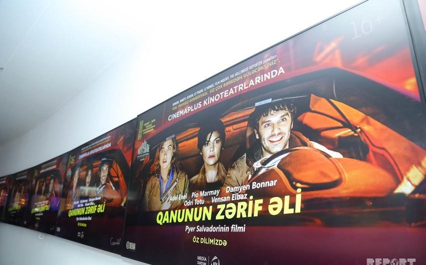 """""""CinemaPlus""""da """"Qanunun zərif əli"""" komediyası nümayiş etdirilib"""