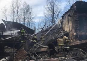 Извлечено тело 17-го погибшего при пожаре на заводе в России