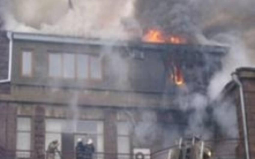 В здании министерства юстиции Армении произошел пожар