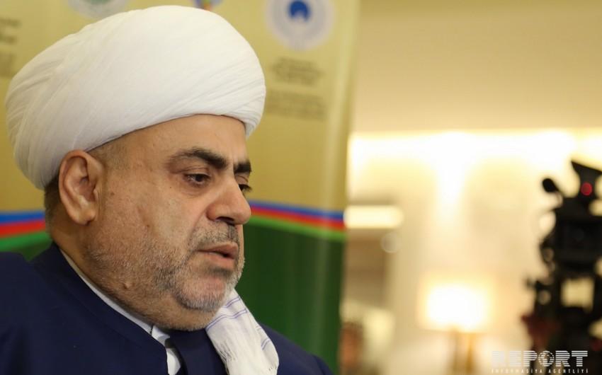 Аллахшукюр Пашазаде посетит Чечню