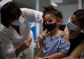 Куба начала массовую вакцинацию от COVID-19 детей от двух до 11 лет