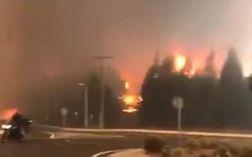 İspaniyada iki nəfər meşə yanğınlarının qurbanı olub - VİDEO - YENİLƏNİB