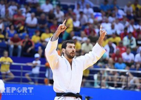 European Games-2019: Azerbaijani judokas win silver and four bronze awards - PHOTO