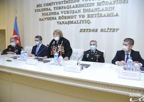 99 yaşlı müharibə iştirakçısının veteranlar təşkilatına sədr seçilməsi təsdiqləndi