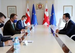 Премьер Грузии проинформировал спецпредставителя ЕС о новой платформе мира