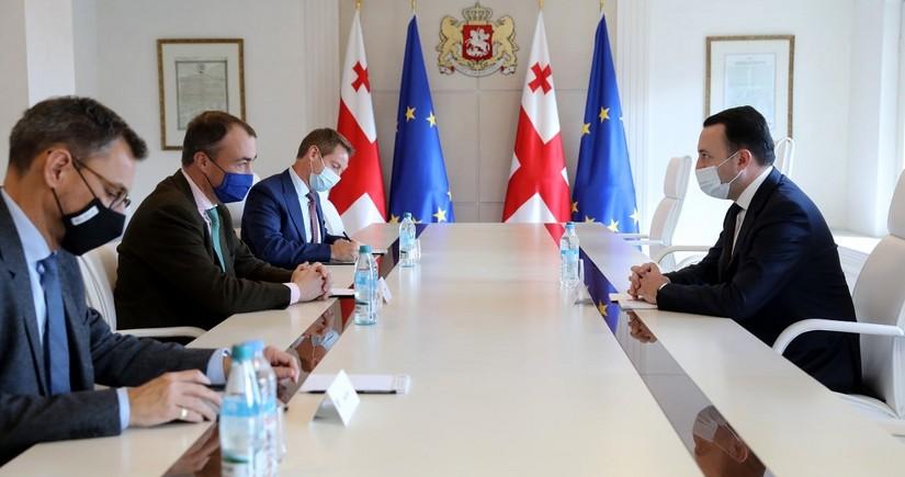 Gürcüstanın Baş naziri Aİ-nin xüsusi nümayəndəsini yeni sülh platforması barədə məlumatlandırıb