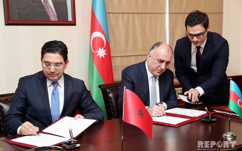 Azərbaycan və Mərakeş arasında bir sıra sənədlər imzalanıb