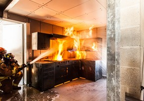 Moskva vilayətində ev yanıb, 3 nəfər ölüb