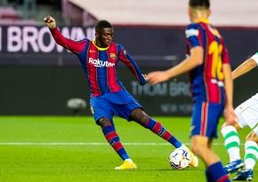 Barselona fransalı futbolçu üçün 130 milyon avrodan çox pul ödədi