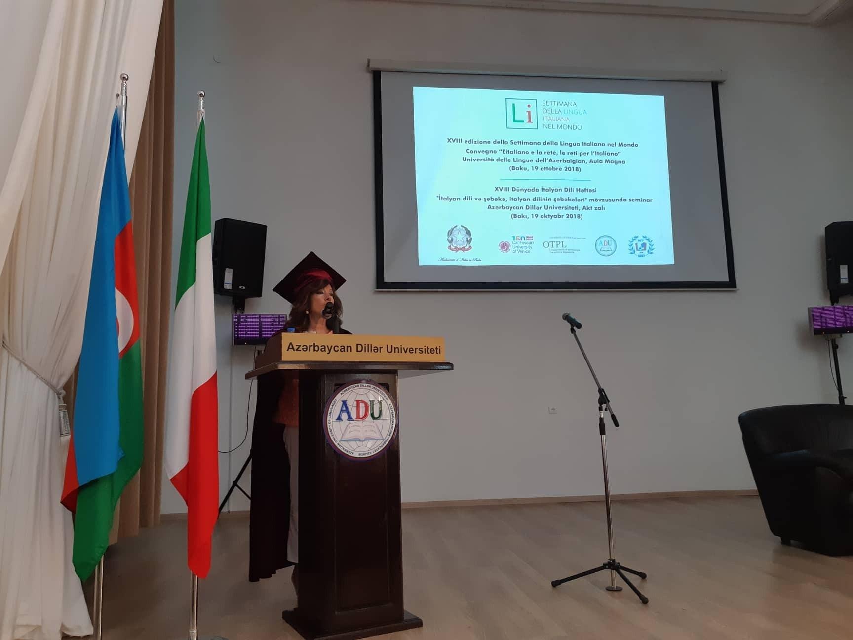 Председатель Сената: Буду делать все для укрепления связей между Азербайджаном и Италией