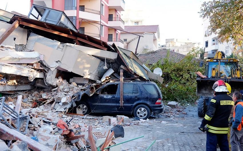 Azərbaycan Albaniyaya humanitar yardım göstərib