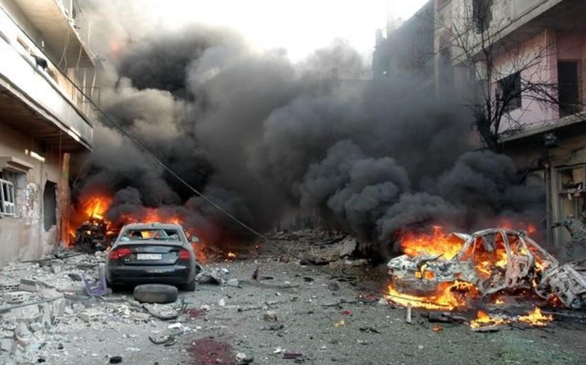 Liviyada terrorçu-kamikadzelər iki avtomobil partladıb, 8 nəfər ölüb