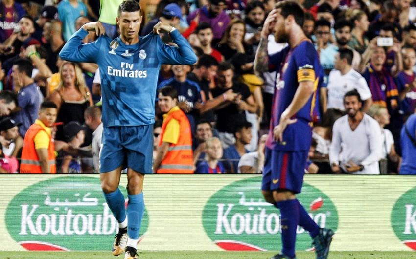 """""""Real Madrid"""" - """"Barselona"""" oyununun vaxtı dəyişdirilib"""