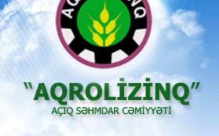 """Azərbaycan Prezidenti """"Aqrolizinq"""" ASC-yə 18 milyon manat ayırıb"""