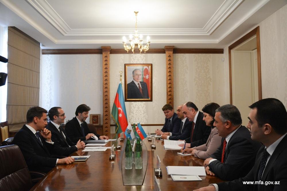 Foreign Ministers of Azerbaijan and San Marino sign Memorandum of Understanding