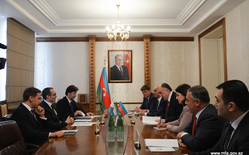 Azərbaycan və San Marino XİN-ləri arasında memorandum imzalanıb