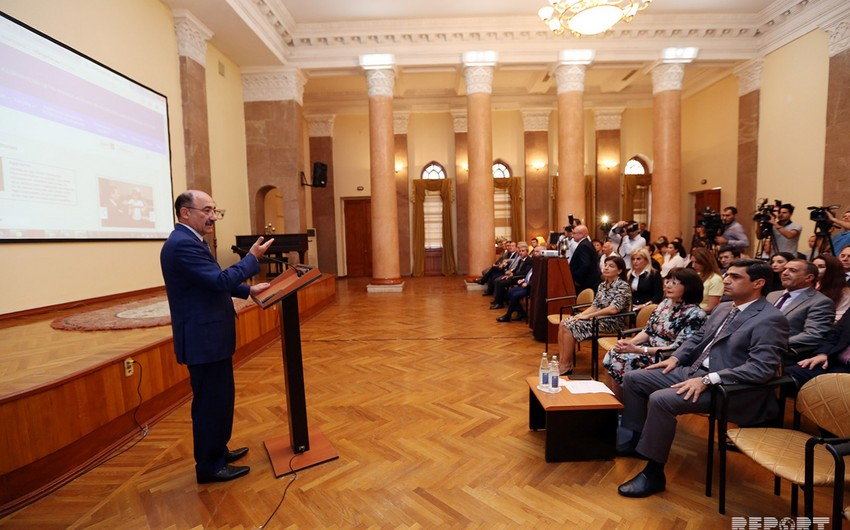 """Presentation of electronic portal of """"The State Register of Intangible Cultural Heritage Elements of Azerbaijan"""" held"""