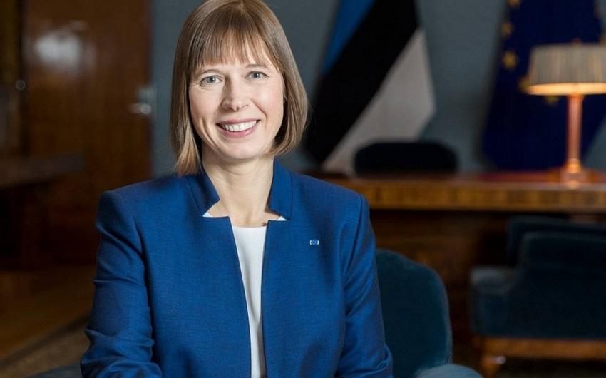 Президент Эстонии находится на самоизоляции