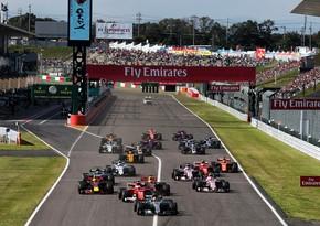 Formula 1 daha 4 il Yaponiyada keçiriləcək