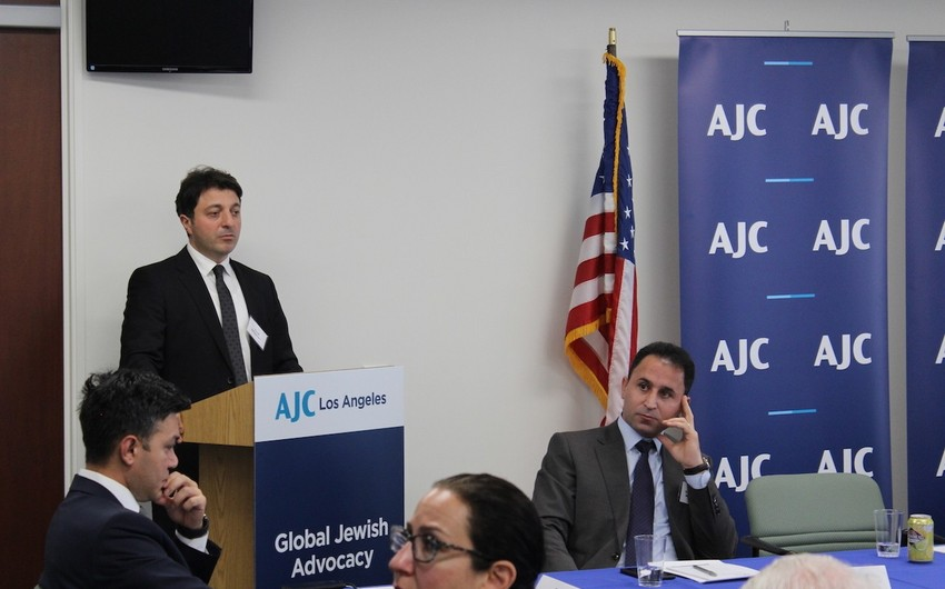 Azerbaijani Community of Nagorno-Karabakh hosted at AJC and Sinai Temple in Los Angeles