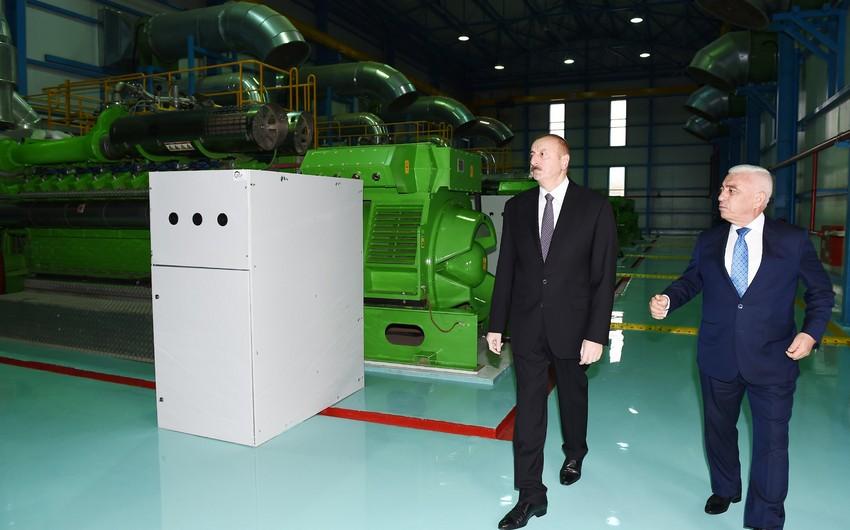 Prezident İlham Əliyev Lerikdə elektrik stansiyasının açılışında iştirak edib