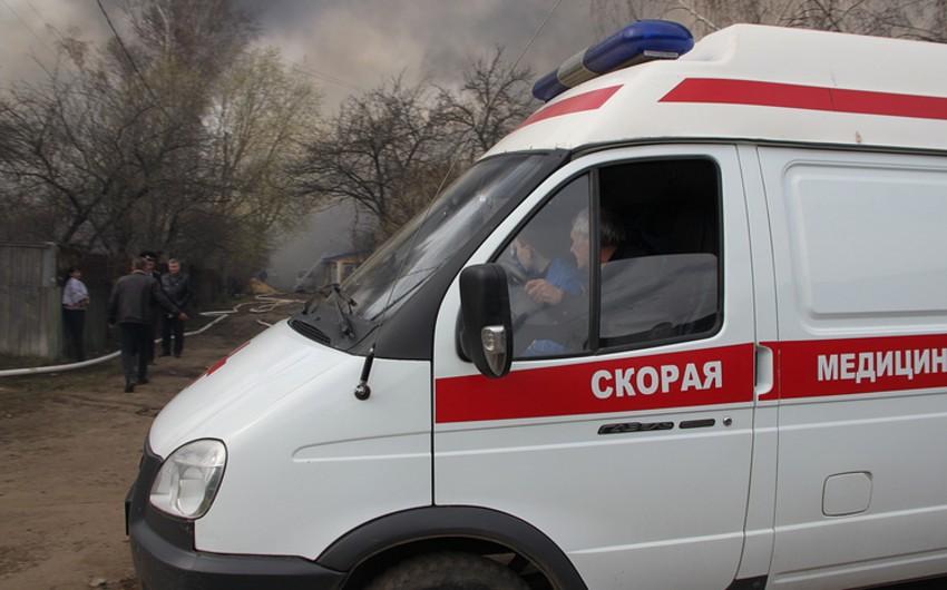 Qazaxıstanda yaşayış binasının uçması nəticəsində 9 nəfər ölüb