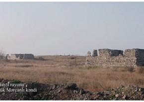 Видеокадры из села Беюк Марджанлы Джебраильского района