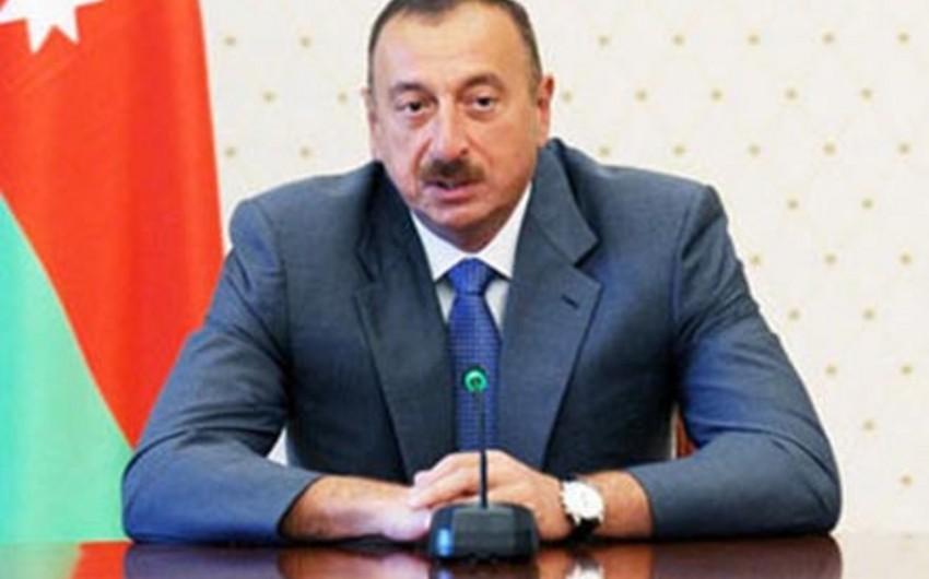 Azərbaycan prezidenti Avropa Olimpiya Komitəsinin prezidenti ilə Bakı-2015 Avropa Oyunlarına hazırlığı müzakirə edib