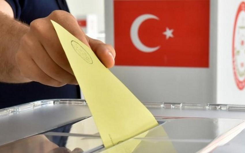 Türkiyədə parlament seçkisi başlayıb