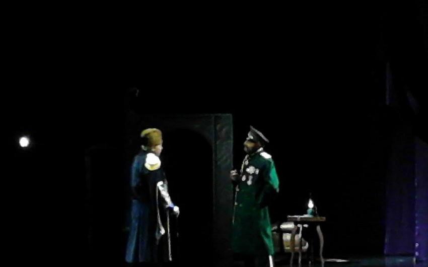 Milli Dram Teatrında Qürbətdən gələn məktublar tamaşası nümayiş etdirilib