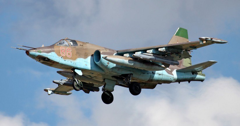 Another Su-25 attack aircraft of Armenia shot down
