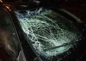 В Баку отец и сын пострадали в ДТП