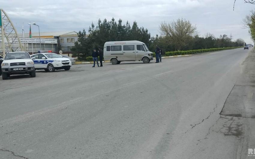 Kürdəmirdə sərnişin mikroavtobusu qəzaya düşüb - FOTO - VİDEO