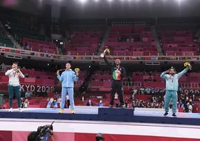 Tokio-2020: Rafael Ağayev mükafatlandırılıb