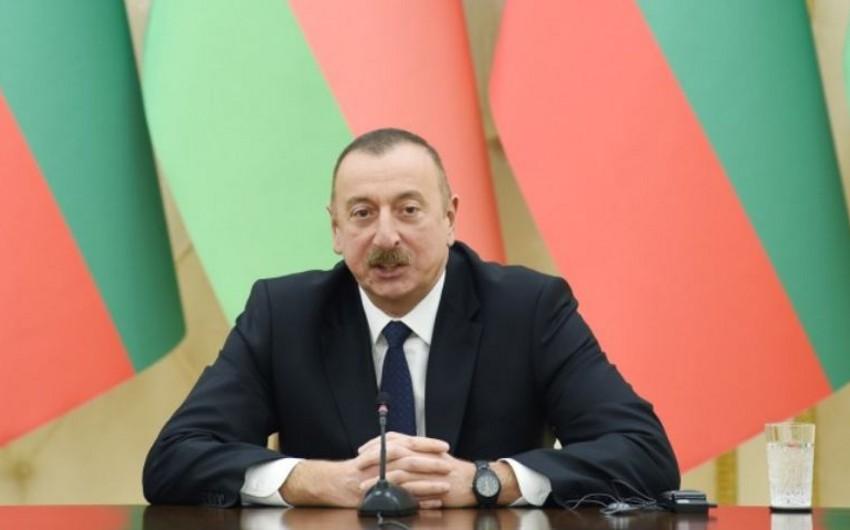 Prezident İlham Əliyev: Azərbaycan şəffaflıq və hesabatlılıq prinsiplərinə nail olacaq