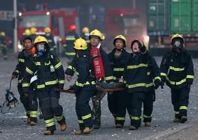 Çində yanğın nəticəsində 14 nəfər ölüb