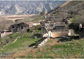 Кадры из села Турабад Зангиланского района