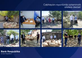 """""""Bank Respublika"""" cəbhəyanı rayonlarda fermerlərə dəstək oldu!"""
