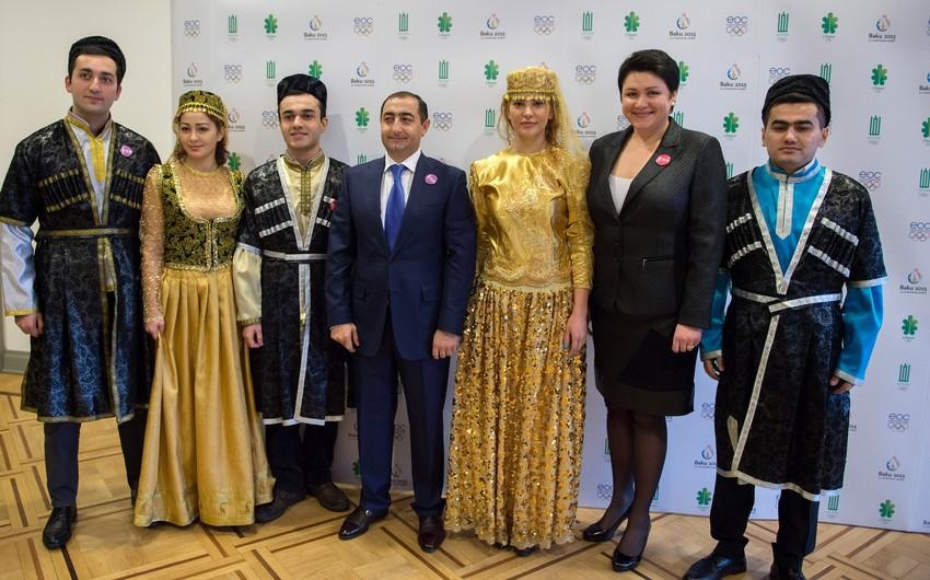 """Litvada """"Bakı 2015"""" I Avropa Oyunlarının təqdimatı keçirilib"""