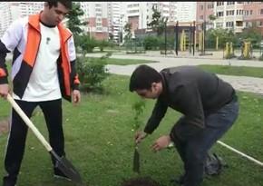 По инициативе Лейлы Алиевой в Балашихе провели экологическую акцию