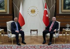 Polşa prezidenti: Türkiyə regionda ən etibarlı müttəfiqimizdir