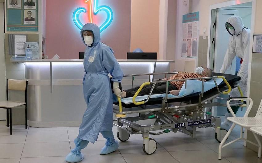 Rusiyada son sutkada koronavirusdan ölənlərin sayı artıb