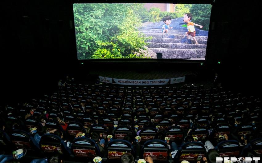 """""""CinemaPlus""""da Heydər Əliyev Fondunun təşkilatçılığı ilə uşaqlar üçün əyləncə proqramı təşkil olunub"""