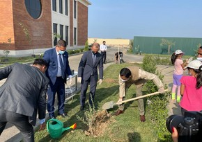 Baku hosts tree planting event to celebrate 75th Independence Day of India