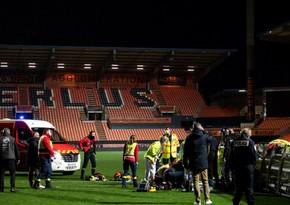 Fransa çempionatındakı oyundan sonra stadionun əməkdaşı öldü