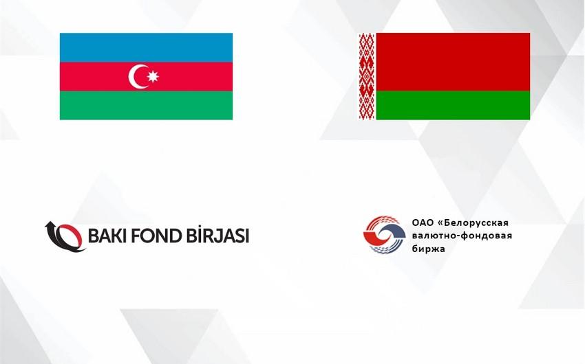 Bakı Fond Birjası ilə Belarusun Valyuta-Fond Birjası arasında memorandum imzalanıb
